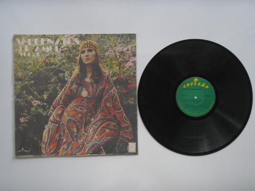 lp vinilo vallenatos de amor volumen  3 1987