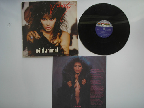 lp vinilo vanity wild animal printed usa 1984