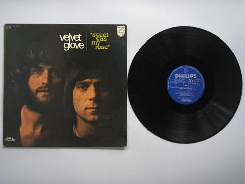 lp vinilo velvet glove sweet was my rose printed españa 1975