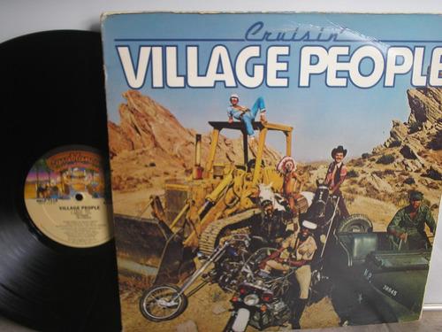 lp vinilo village people cruisin printed usa 1978