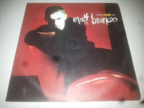 lp vinilo vinyl acetato discos the best of matt bianco