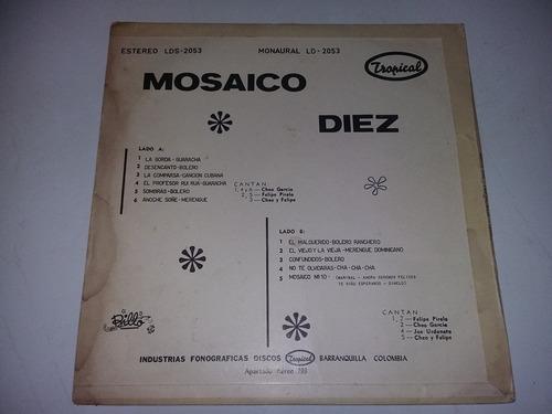 lp vinilo vinyl billos caracas boys mosaico diez cumbia