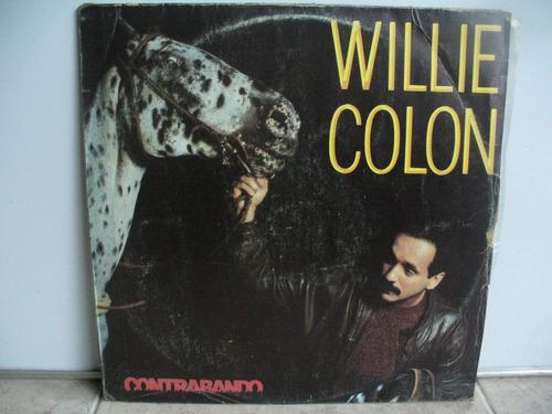 lp vinilo willie colon contrabando printed venezuela
