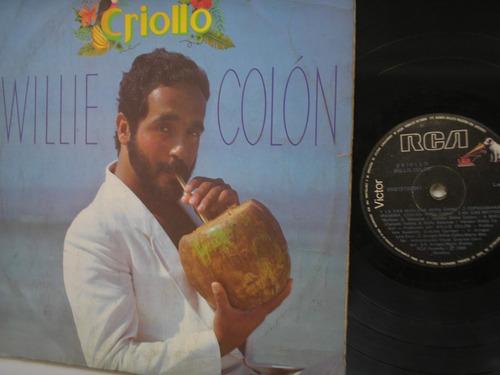 lp vinilo willie colon criollo edicion colombia 1984