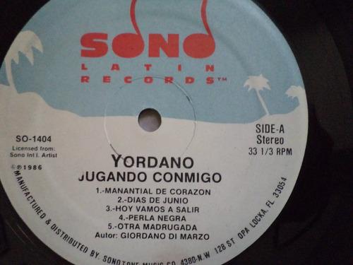 lp vinilo yordano (álbum   ..jugando conmigo)