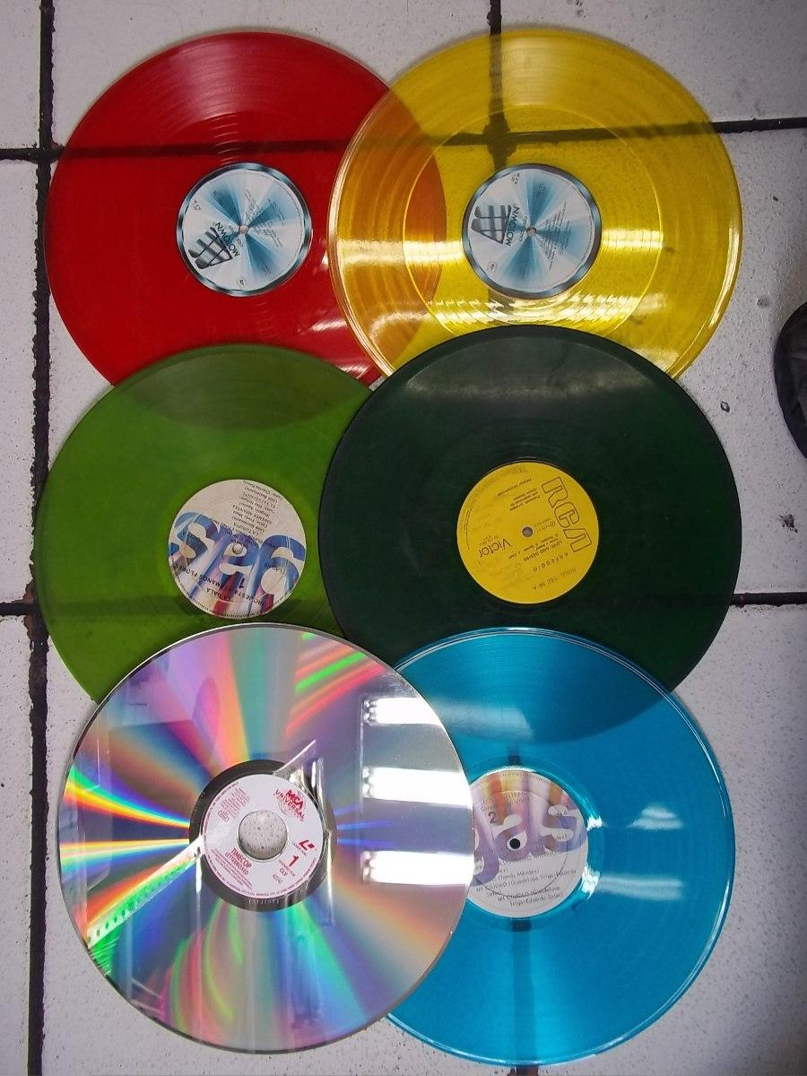 Lp vinilos acetatos discos de adorno decoracion - Decoracion con discos de vinilo ...