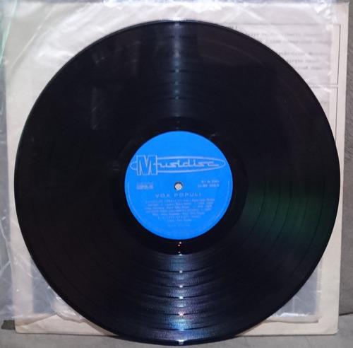 lp vox populi prensagem original musidisc 1969 único no ml