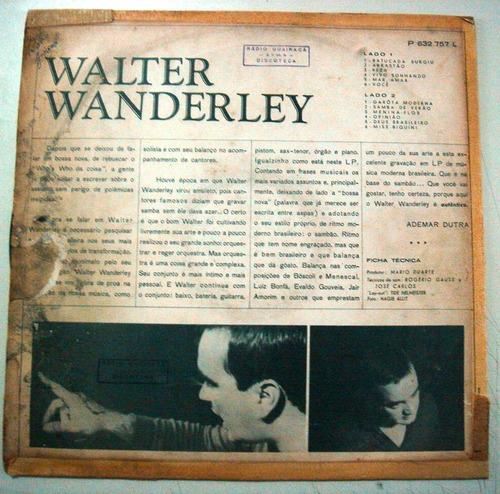 lp walter wanderley  -o autêntico