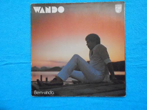 lp wando p/1980- bem-vindo