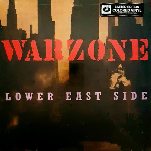 lp warzone ¿ lower east side - color vinyl limited edition