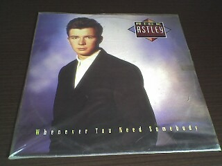 lp whenever you need somebody - rick astley