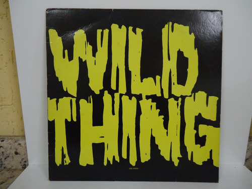 lp wild thing x - true loves - importado n.y. selo elektra