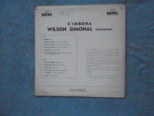 lp wilson simonal - prensagem argentina