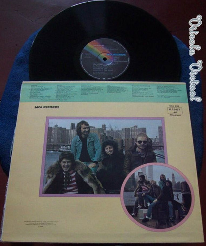 lp wishbone ash locked in 1976 mca record/ gema made germany