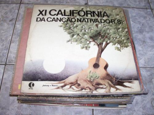 lp x i califórnia da canção nativa do r.s.