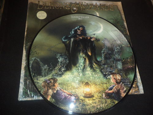 lp x2 picture disc, demons & wizards rush ambato.