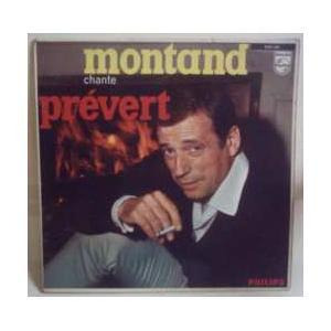 lp yves montand chante jacques prevert 1962 philips france