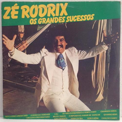 lp zé rodrix (os grandes sucessos) hbs