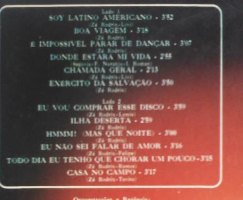 lp zé rodrix soy latino americano c/encarte 1976 raro