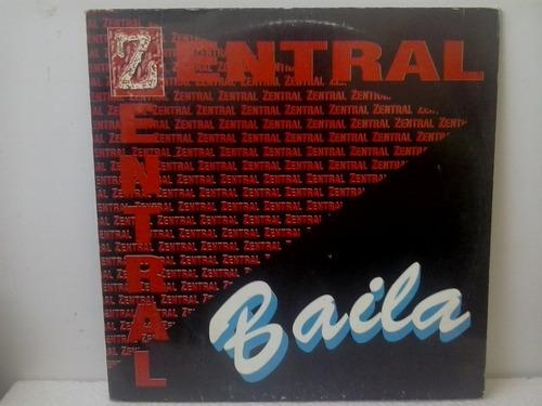 lp zentral baila 1994 - house dance