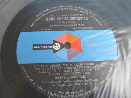 lp zerado duplo jesus christ superstar rock opera   e