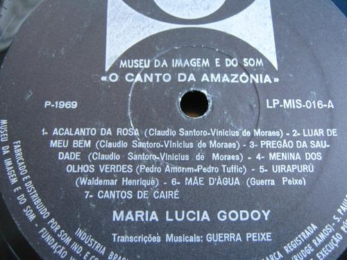 lp zerado maria lucia godoy canto amazonia museu imagem som