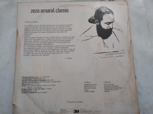 lp zeza amaral: clareia