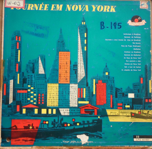 lp(077) outros int - werner müller - tournée em nova york