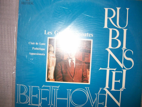 **lp**arthur rubinstein**beethoven **les grandes sonates**