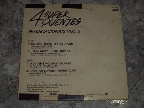 lp/compacto - 4 super quentes internacional vol.5
