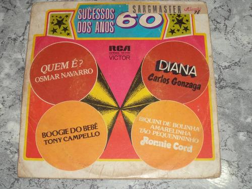 lp/compacto duplo - sucessos dos anos 60
