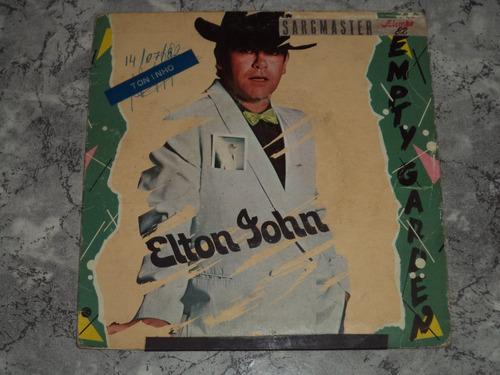 lp/compacto - elton john - empty garden