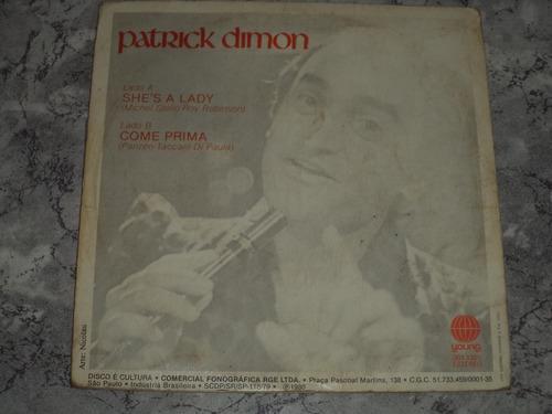 lp/compacto - patrick dimon -  she's a lady