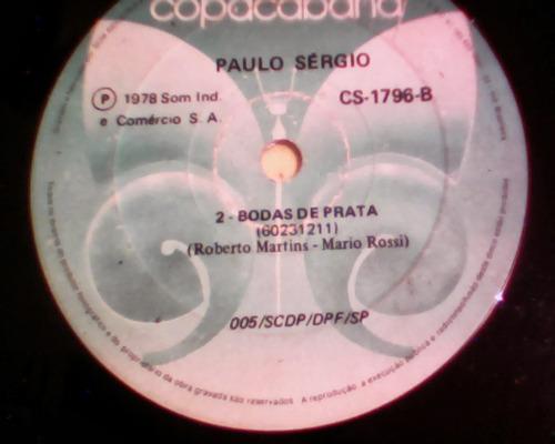 lp/compacto - paulo sergio - voce pode me perder