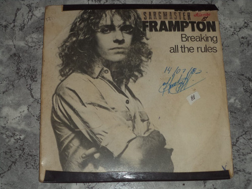 lp/compacto - peter frampton - breaking all the rules