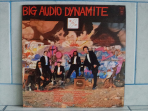 lp/disco black - big audio dynamite - tighten up
