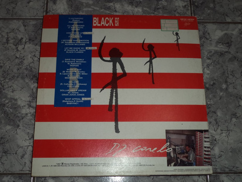 lp/disco black - black beat  - 1989