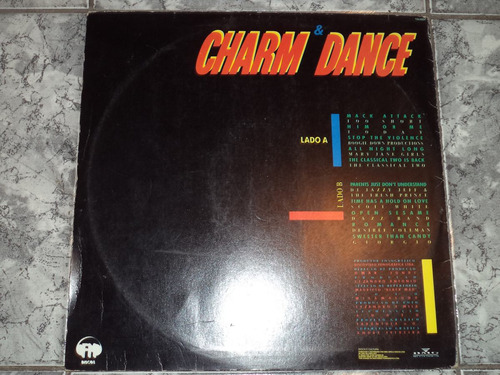 lp/disco black - black mad - charm dance