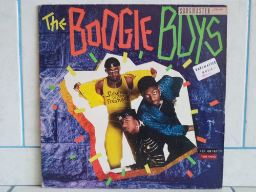 lp/disco black - boogie boys - survival of the freshest