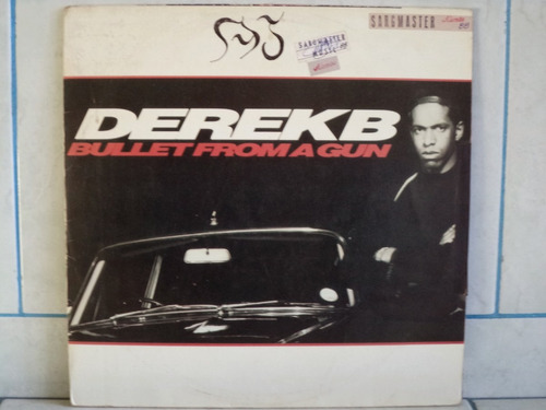 lp/disco black - derek b - bullet f a g (nacional)