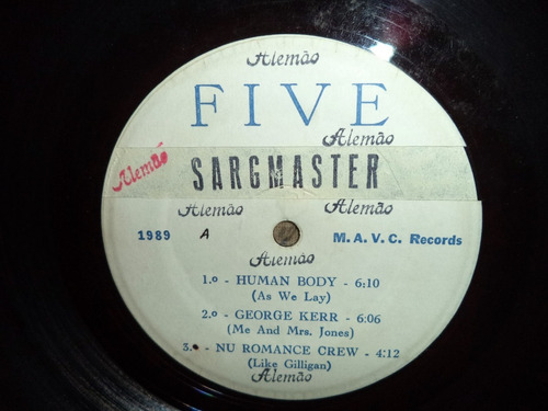 lp/disco black - five special - coletanea funk / melodia