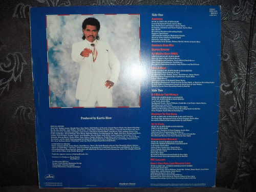 lp/disco black - kurtis blow - america