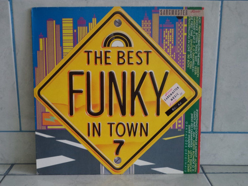 lp/disco black - the best funky in town 7