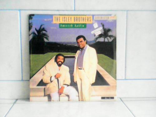 lp/disco black - the isley brothers - smooth sailin ( c/e )