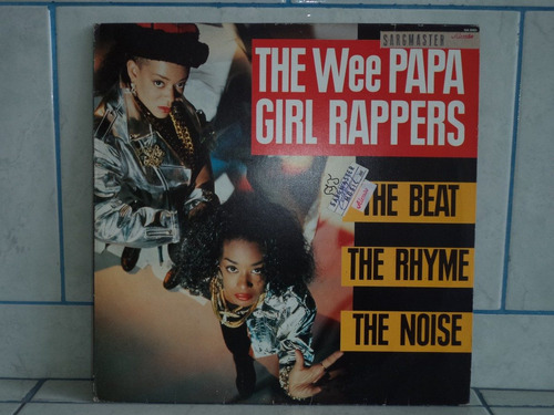 lp/disco black - the wee papa girl rappers - the beat
