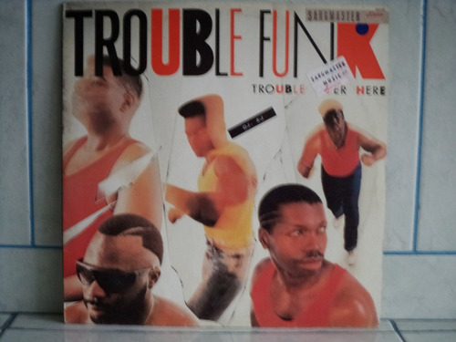 lp/disco black - trouble funk - trouble over here