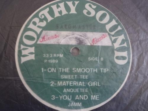 lp/disco black - worthy sound - 1989    ( vinil raro )