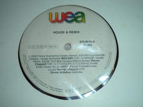 lp/disco house&dance - house & remix - 1