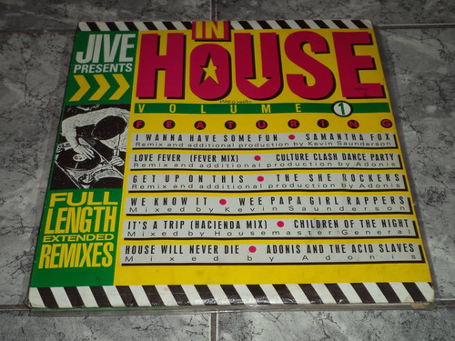 lp/disco house&dance - in house vol. 1