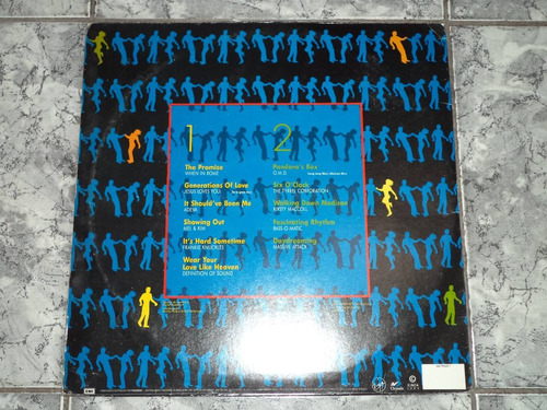 lp/disco house&dance - let's dance now (lindoo -capa/disco)